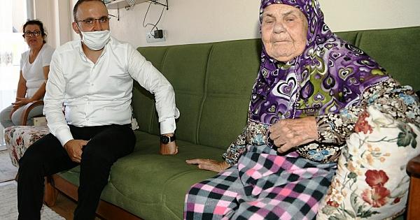 Bülent Turan'ın Çan ziyareti