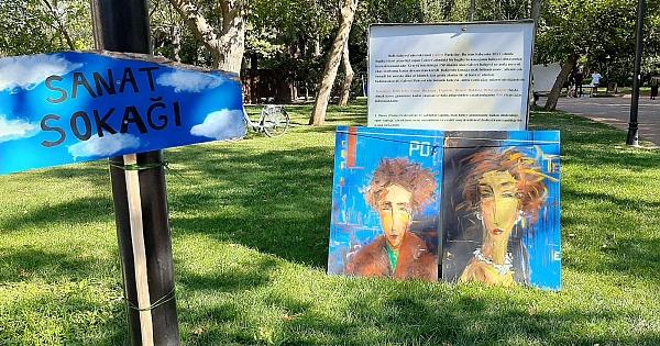 Yerel sanatçıların el emekleri sergileniyor