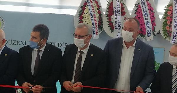 ÇTSO Yönetim Kurulu Biga Fuarı açılışına katıldı