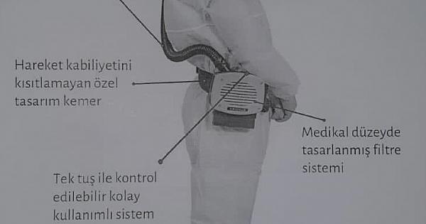 GESTAŞ'tan HEPA filtreli solunum cihazı