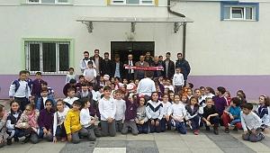 Adaspor okulları ziyaret etti