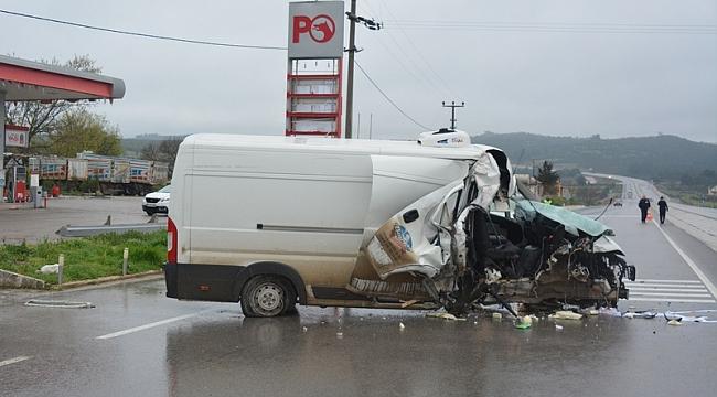 Ayvacık'ta kaza