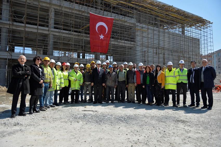 Kaba inşaatın yüzde 85'i tamamlandı