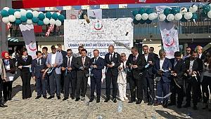 5 yıldızlı otel konforundaki Devlet Hastanesi açıldı