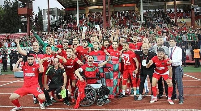 Bayrampaşaspor 2. Lige çıktı