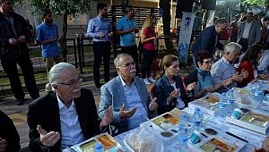 Belediyenin mahalle iftarları başladı…