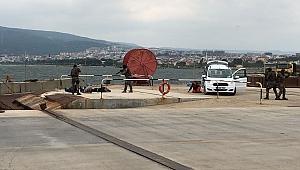 Kepez Limanı'nda tatbikat
