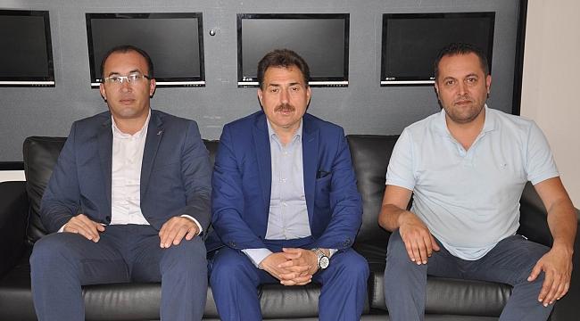 Ölçek'ten Hedef Gazetesi'ne ziyaret