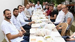 Adatepe köyünde hayır yemeği