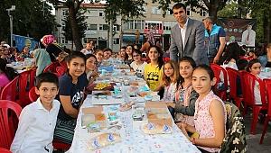 Başkan Arslan çocukları unutmadı