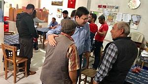 CHP'li Erkek ilçe ilçe dolaşıyor