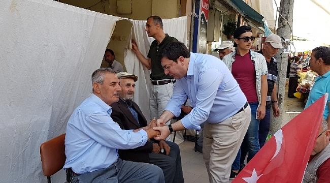 CHP'li Erkek'ten Lapseki'ye çıkarma