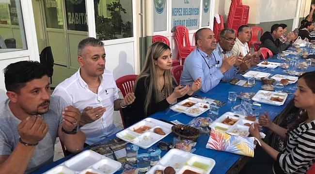 EVİŞ İnşaat'tan iftar yemeği