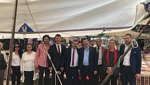 Gökçeada'da MHP'ye yoğun ilgi