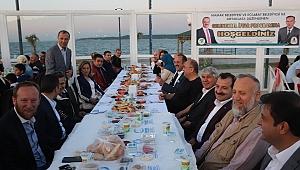 Kardeş belediyelerden iftar yemeği