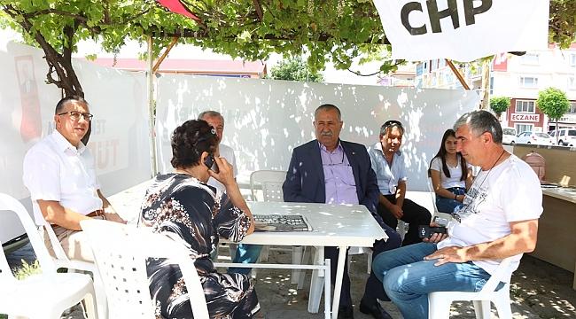 Kepez'de seçim standı