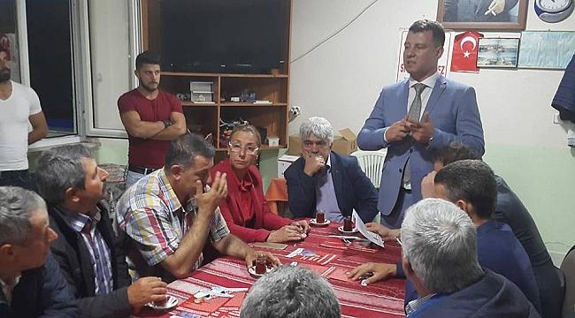 MHP'li adaylardan ilçelere çıkarma