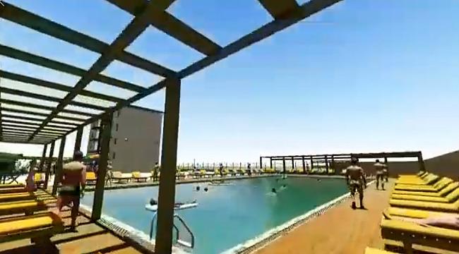 Umurbey'e Yarı Olimpik Yüzme Havuzu yapılacak