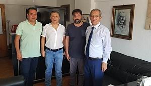 Başkanlar gazetecilerle buluştu
