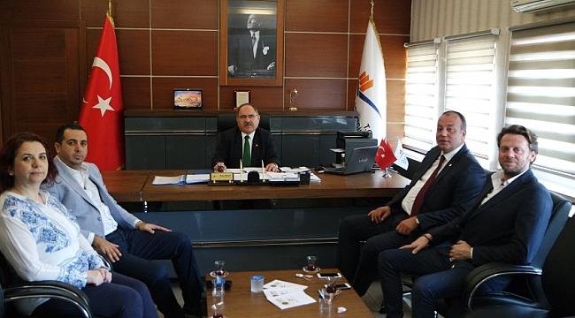 ÇTSO'dan Çevre ve Şehircilik İl Müdürlüğü'ne ziyaret