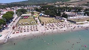 Güzelyalı Halk Plajı ilgi görüyor
