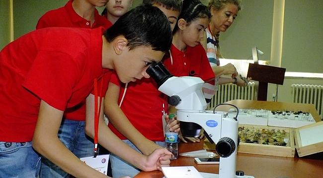 TÜBİTAK Yaz Bilim Kampı sürüyor