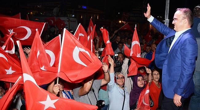 Türkiye, terörden temizlenene dek mücadelemiz sürecek