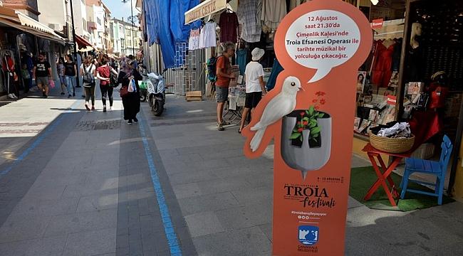 55. Uluslararası Troia Festivali başlıyor…