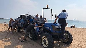 Bozcaada'da temizlik seferberliği