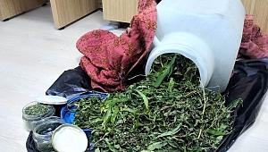 Çanakkale'de esrar operasyonu