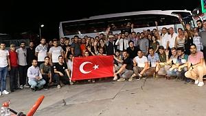 Çanakkale ruhunu Ankara'ya taşıdılar