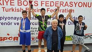 Osman Alanda Türkiye Şampiyonu
