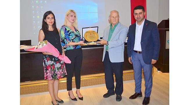 Prof. Dr. Demircan'a kent ödülü