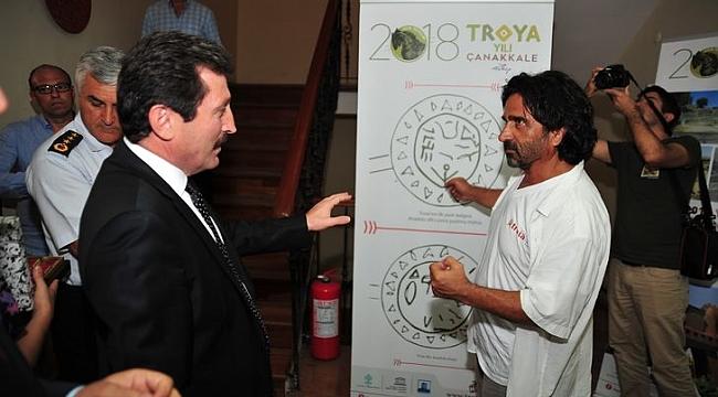 PTT'den 'TROYA YILINA' özel sergi