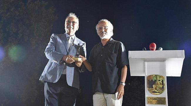 Troia Festivali'nde Şahin'e ödül