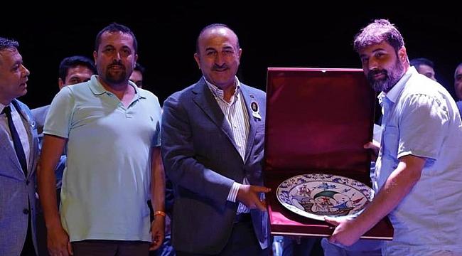 Bakan Çavuşoğlu, Çanakkale'ye selam gönderdi
