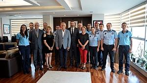 Başkan Gökhan, Zabıta ekiplerini ağırladı
