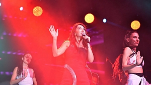 Çan'da Hande Yener rüzgarı