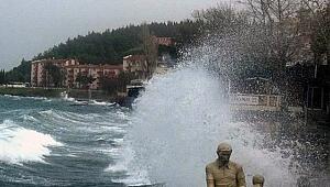 Çanakkale için 'tropik fırtına' uyarısı