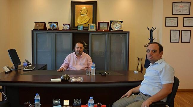 Ercan'dan Üzen'e ziyaret