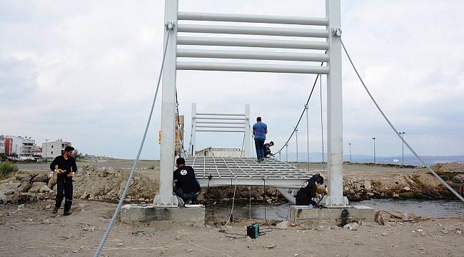Köprü çalışmaları başladı