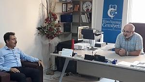 Merkez İlçe'den STK ziyareti