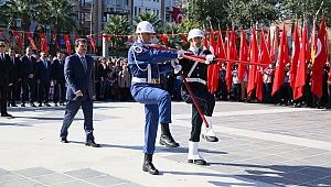 Cumhuriyet Meydanı'nda 29 Ekim töreni