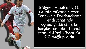 Dardanel:0 Yeşilköy:2