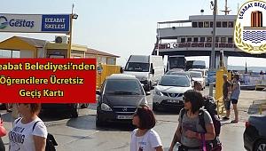 Eceabat Belediyesi'nden önemli destek