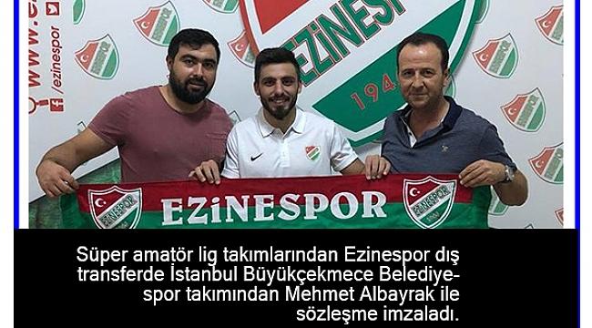Ezinespor transfere devam