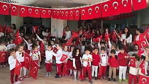 Miniklerin Cumhuriyet Bayramı coşkusu…