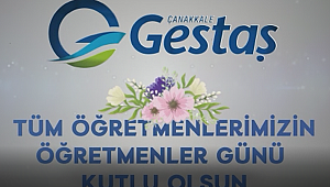 Gestaş'tan Öğretmenler Günü'ne özel video