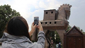 Troya Milli Parkı'na ziyaretçi akını