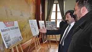 Basında Troya sergisi açıldı